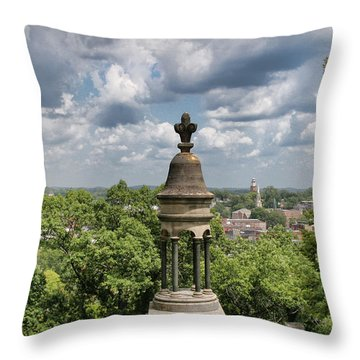 View Of Rome Throw Pillow