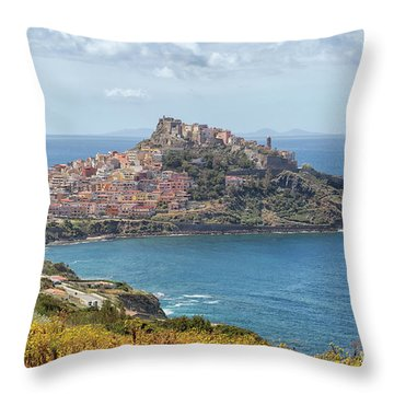View On Castelsardo Throw Pillow
