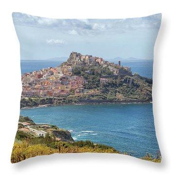 View On Castelsardo Throw Pillow