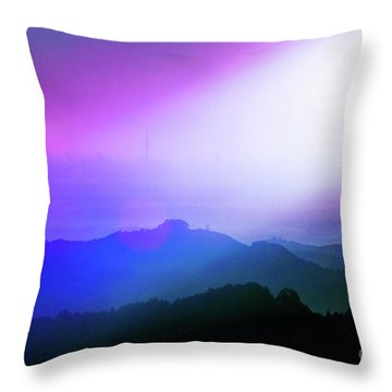 Throw Pillow featuring the photograph View Point by Tatsuya Atarashi