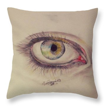 View Point  Throw Pillow