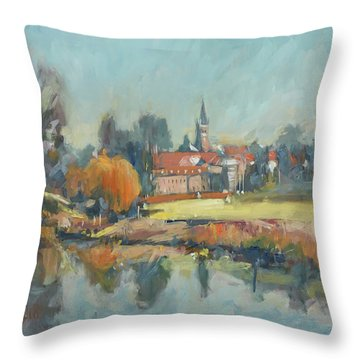 View To Elsloo Throw Pillow