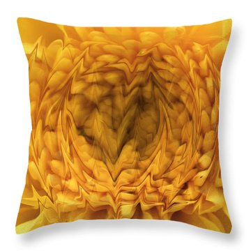 Throw Pillow featuring the photograph View Within by Shari Jardina