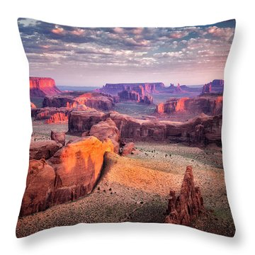 Views From The Edge  Throw Pillow
