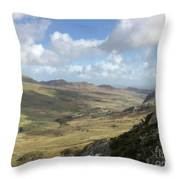 Views From Tryfan Throw Pillow