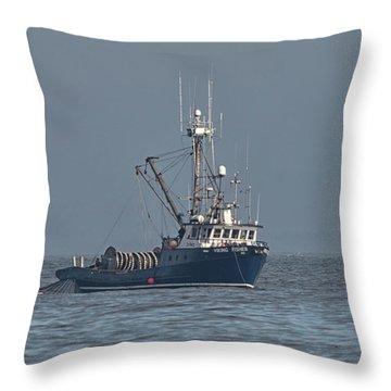 Viking Fisher 1 Throw Pillow