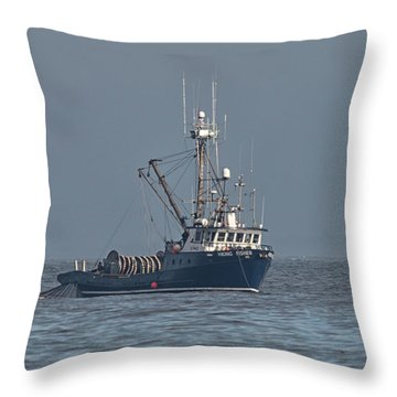 Viking Fisher 1 Throw Pillow
