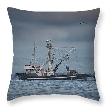 Viking Tide Throw Pillow
