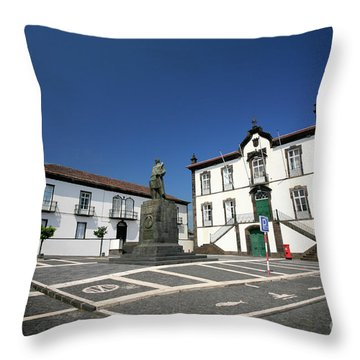 Vila Franca Do Campo - Azores Throw Pillow by Gaspar Avila