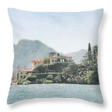 Villa Del Balbianello  Throw Pillow
