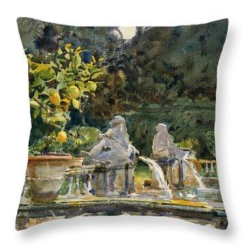 Italian Painters Throw Pillows