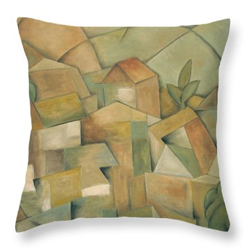 Villa Nueva Throw Pillow