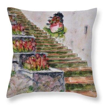 Villa Rufolo Throw Pillow