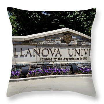 Villanova Throw Pillow