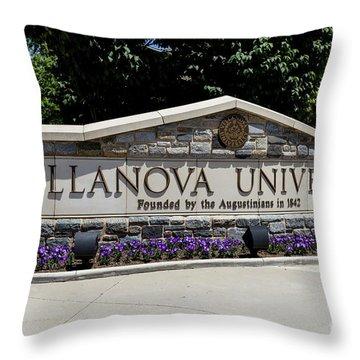 Throw Pillow featuring the photograph Villanova by William Norton