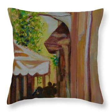 Ville Franche 11 Throw Pillow by Julie Todd-Cundiff