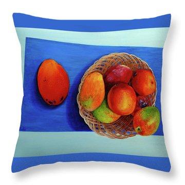 Vilma's Magical Mango's Throw Pillow