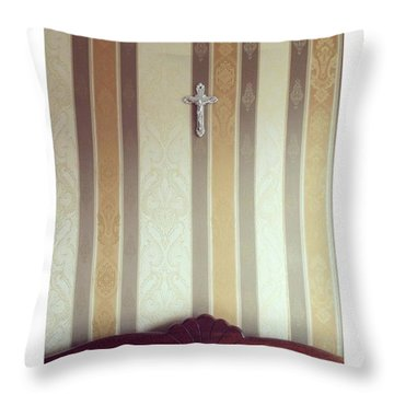 #vilnius #home #interior #wall Throw Pillow