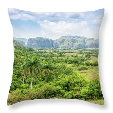 Vinales Valley Throw Pillow