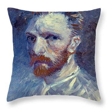 Vincent Van Gogh Throw Pillow by Granger