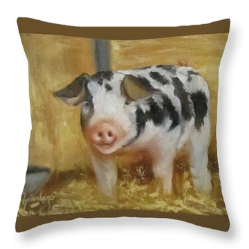 Vindicator The Spotted Pig Throw Pillow