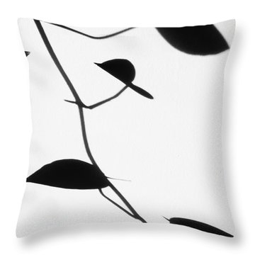 Vine Shadow Throw Pillow