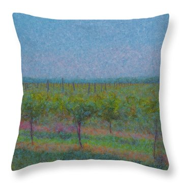 Vines In The Sun Throw Pillow