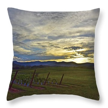 Cultivation Throw Pillow