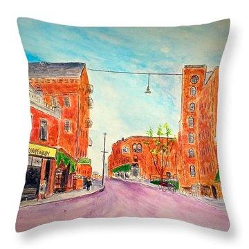 Vintage Amesbury Throw Pillow