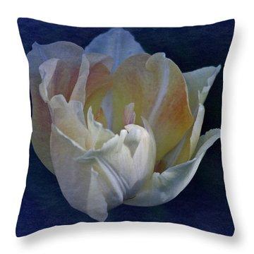 Vintage April 2017 Tulip Throw Pillow by Richard Cummings