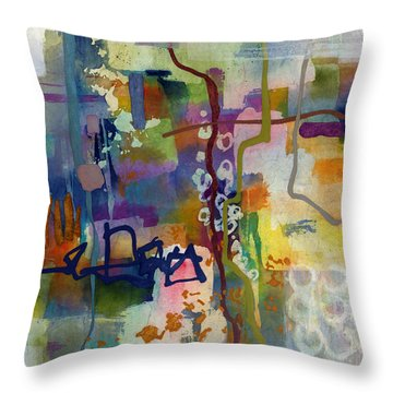 Vintage Atelier 2 Throw Pillow by Hailey E Herrera