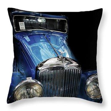 Vintage Bentley Throw Pillow
