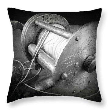Vintage Bronson  Throw Pillow by Scott Kingery