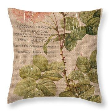 Botanical Gardens Throw Pillows