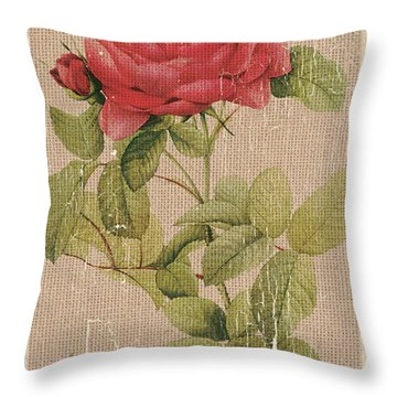 Flora Throw Pillows