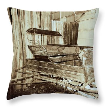 Vintage Carriage Throw Pillow