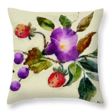 Vintage Charm Throw Pillow