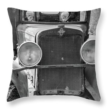 Vintage Chevrolet Throw Pillow