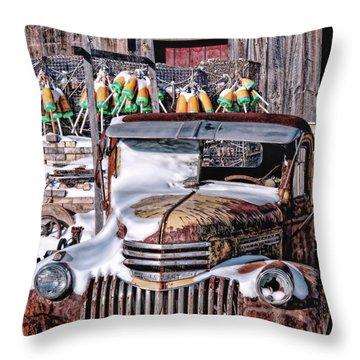 Vintage Chevrolet Throw Pillow