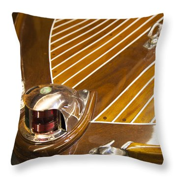 Vintage Century Bow Light Throw Pillow
