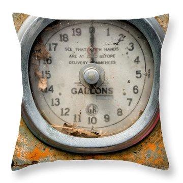 Vintage Guage Throw Pillow