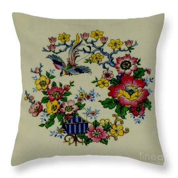 Vintage Memories #1 Throw Pillow