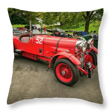 Throw Pillow featuring the photograph Vintage Motors by Adrian Evans
