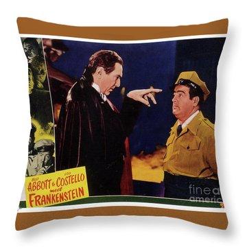 Bela Lugosi Throw Pillows