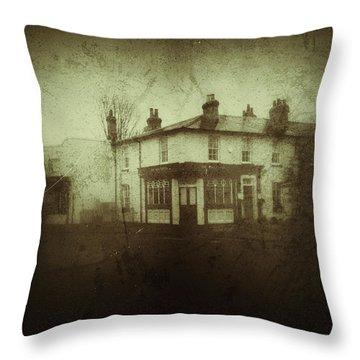 Vintage Public House  Throw Pillow