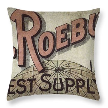 Sears Roebuck Catalog Throw Pillows Fine Art America Gorgeous Sears Decorative Pillows