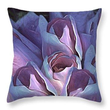 Vintage Still Life Bouquet - 2 Throw Pillow