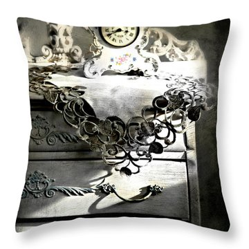 Throw Pillow featuring the photograph Vintage Time by Diana Angstadt
