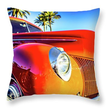 Vintage Vibrance Throw Pillow