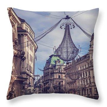 Vintage Vienna Throw Pillow